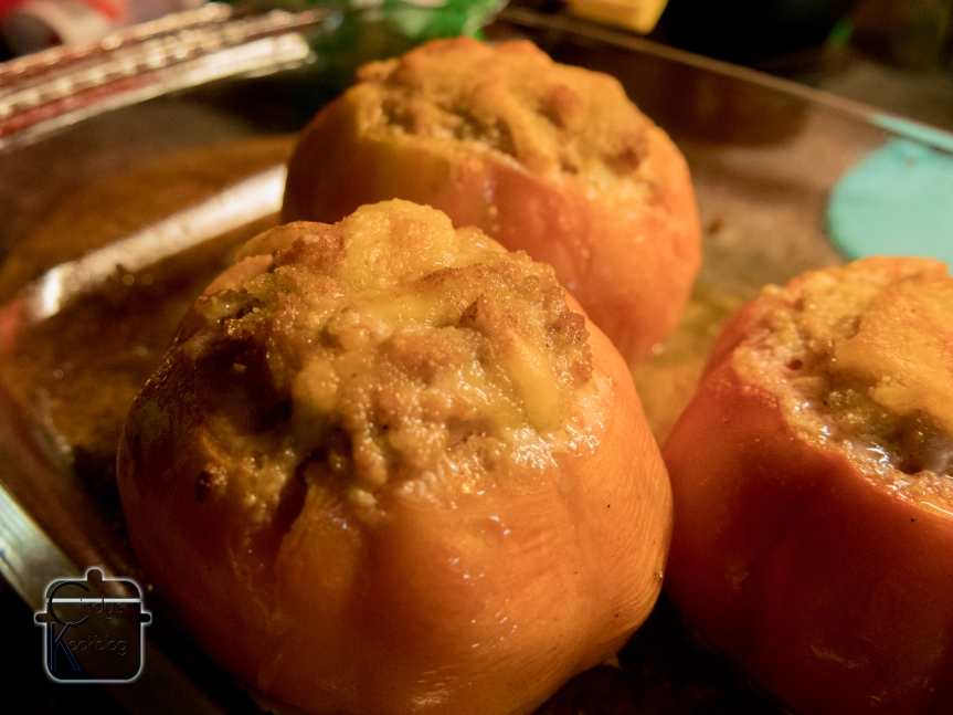 Gevulde tomaten metmascarponesaus